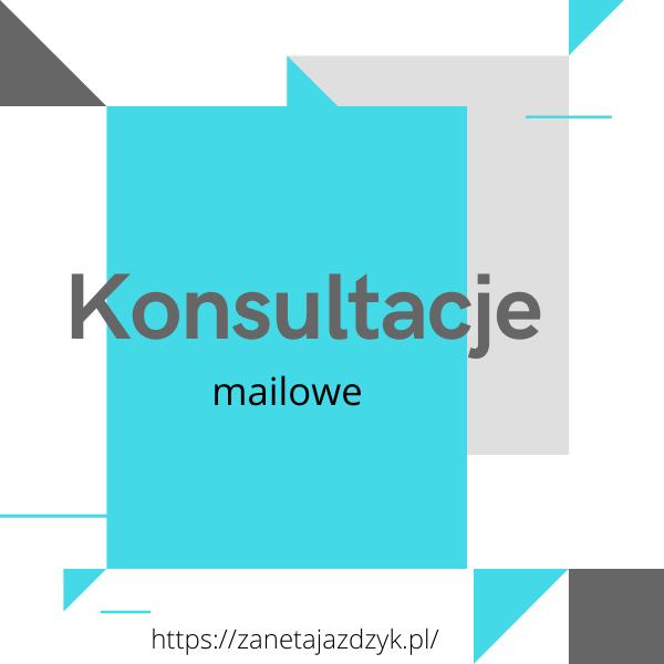 konsultacje mailowe